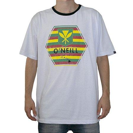 Camiseta Oneill Coat of Arms Branco