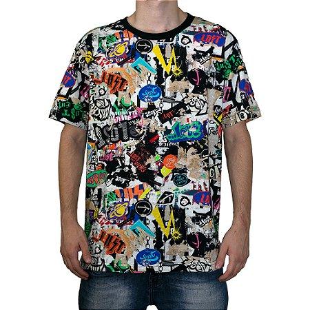 Camiseta Lost Especial Stickers Full Print