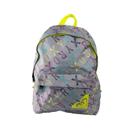 Mochila Roxy Sugar Baby Track and Field Cinza/Verde
