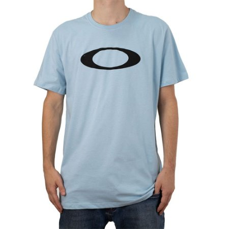 Camiseta Oakley O-Ellipse Tee Blue Ice