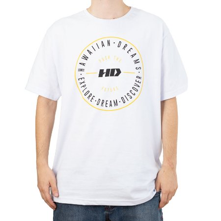 Camiseta HD Push The Future Branco