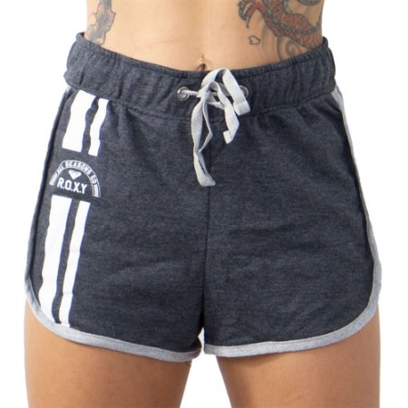 Short Roxy Jungle Boogie Cinza