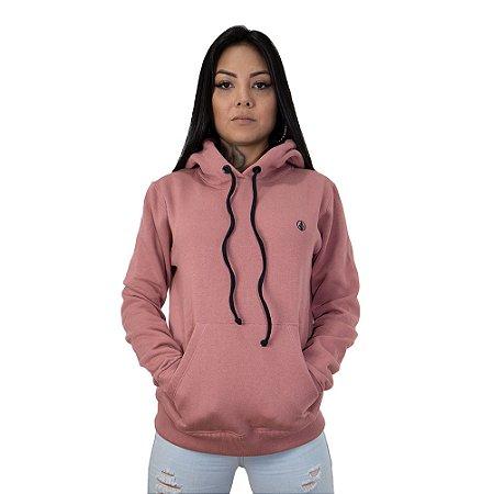 Moletom Canguru Pink Shade