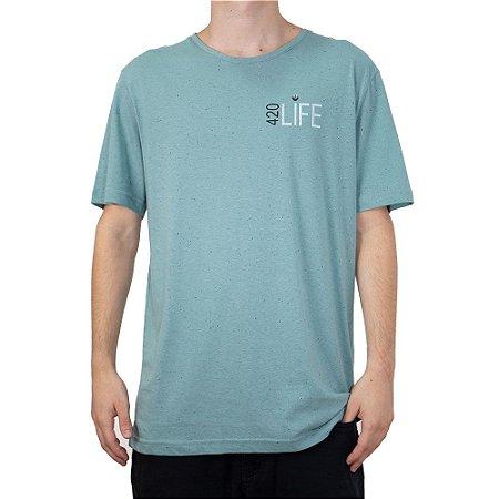 Camiseta 4:20 Life Especial LIFE Azul Claro