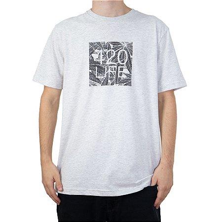 Camiseta 4:20 Life Leaf Logo Branco