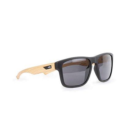 Óculos HB H-Bomb Matte Black Wood/Gray
