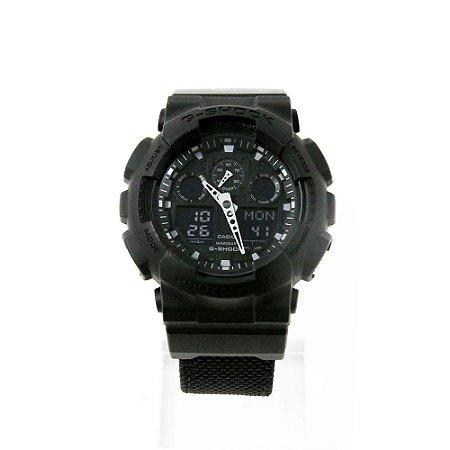 Relógio G-Shock Anadigi GA1000FC 1ADR Preto