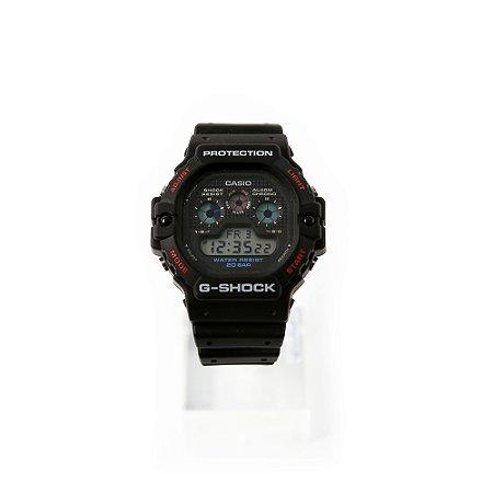 Relógio G-Shock Digital DW-6900MMA-1DR Preto