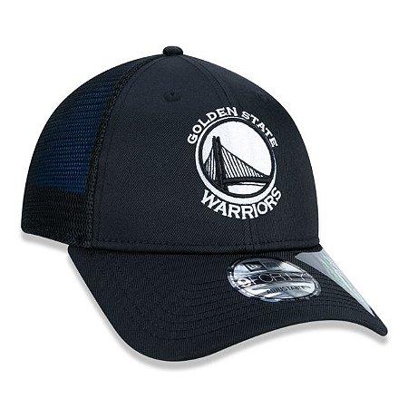 Boné New Era 940 NBA Golden State Warriors Azul