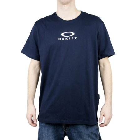 Camiseta Oakley Bark New Navy Blue