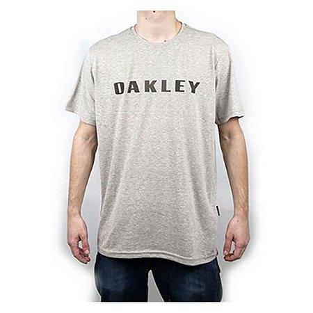 Camiseta Oakley Bark O-Rec Stone Gray