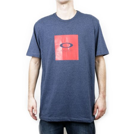Camiseta Oakley No Ego Washed Fathom Heather