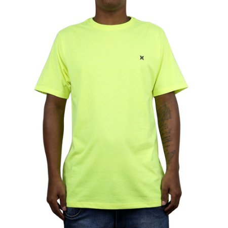Camiseta Hurley Mini Icon Amarelo Neon
