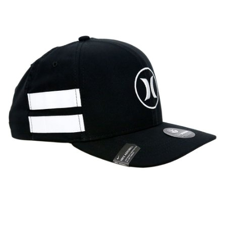 Boné Hurley Snapback Black Party Icon Preto