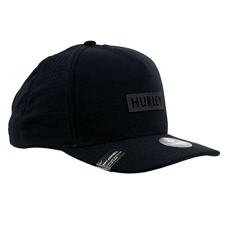 Boné Hurley Snapback Slim Box Preto