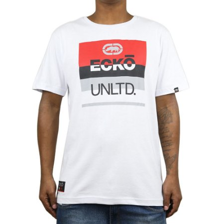 Camiseta Ecko Básica E897 Branco