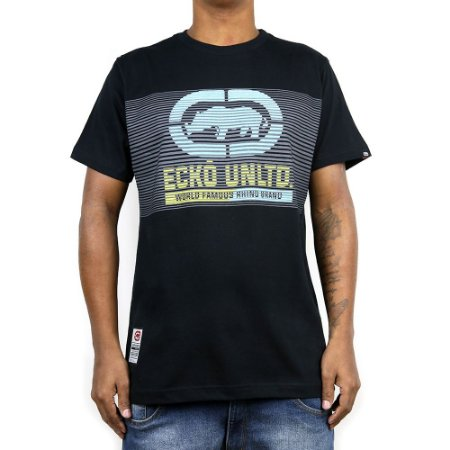 Camiseta Ecko Básica E916 Preto