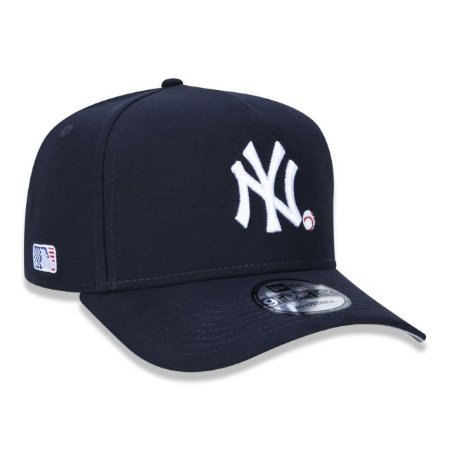 Boné New Era 940 MLB New York Yankees A-Frame Snapback Marinho