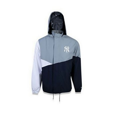 Jaqueta New Era Corta Vento MLB New York Yankees Cinza