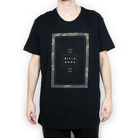 Camiseta Billabong Básica Tucked Preto