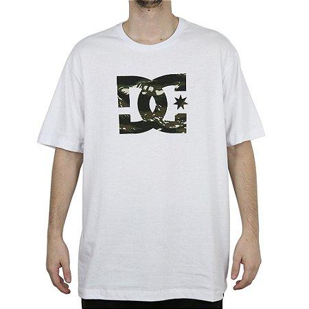 Camiseta DC Básica Star Camuflado