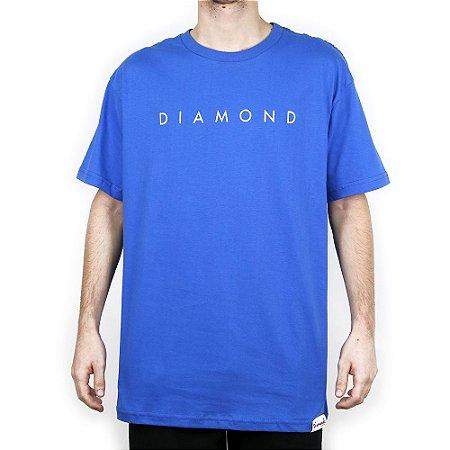 Camiseta Diamond Básica Leeway Royal