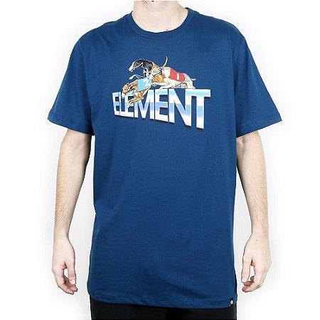 Camiseta Element Básica Tristar Petróleo