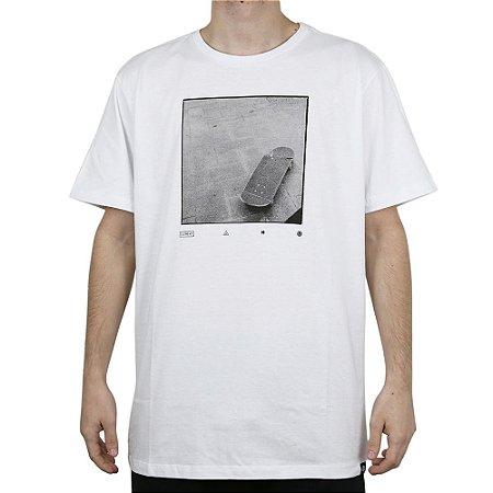 Camiseta Element Básica Skate Element Branco