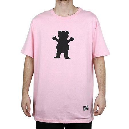 Camiseta Grizzly Básica Og Bears Pink