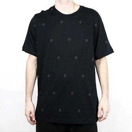 Camiseta Nike SB AOP Diamond Black