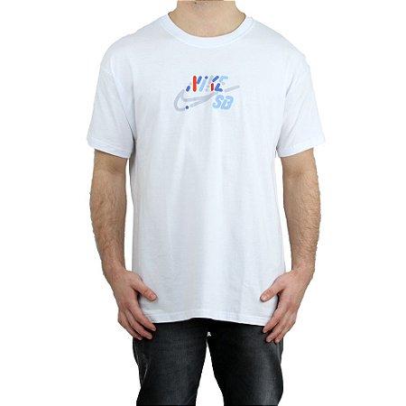 Camiseta Nike SB Básica Yoon White