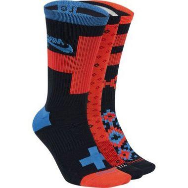 Meia Nike SB Everyday Max Lightweight Multi Color Kit c/ 3 meias