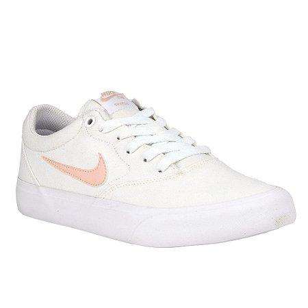 Tênis Nike SB WMNS Charge Canvas White