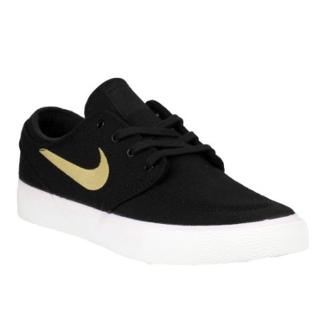 Tênis Nike SB Zoom Stefan Janoski Canvas RM Black/ Brown
