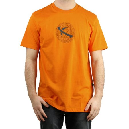 Camiseta Lost Básica Lighting Bolt Laranja