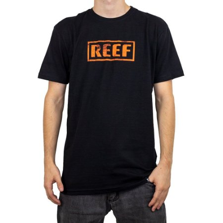 Camiseta Reef Destroyed Preto