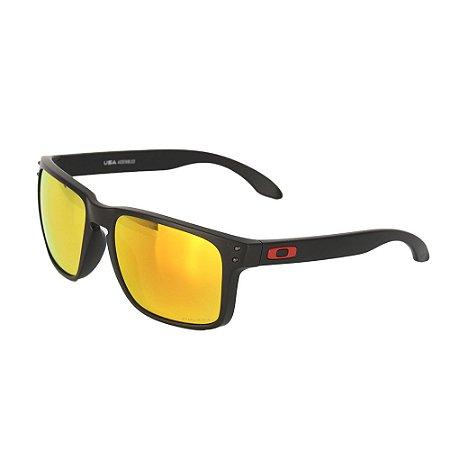 Óculos Oakley Holbrook XL Matte Black Prizm Ruby
