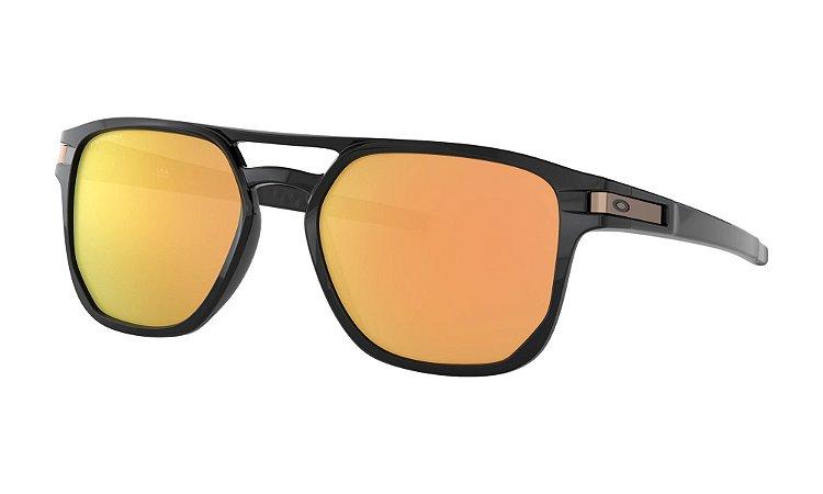 Óculos Oakley Latch Beta Polished Black Prizm Rose Gold