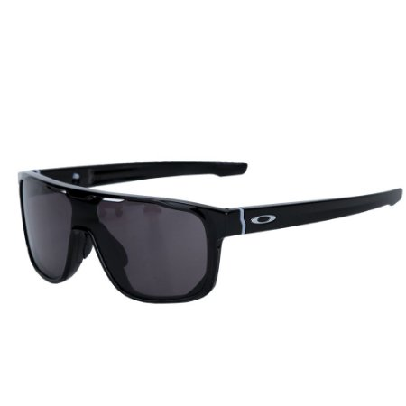 Óculos Oakley Crossrange Shield Polished Black Warm Grey