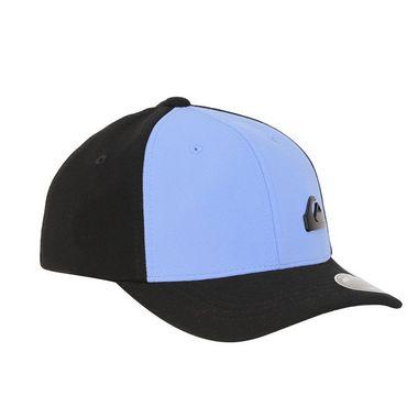 Boné Quiksilver Flex Plate Black Blue