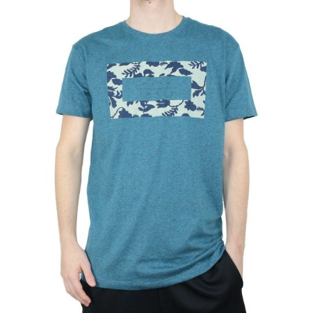 Camiseta Hang Loose Silk Manga Curta Koolau Azul Machine