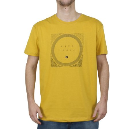 Camiseta Hang Loose Silk Storm Gold