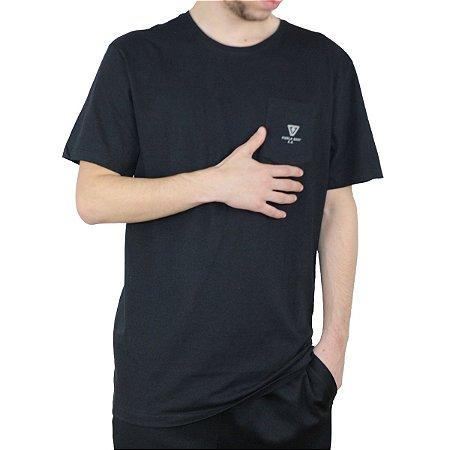 Camiseta Vissla Silk Shapers Room Preto