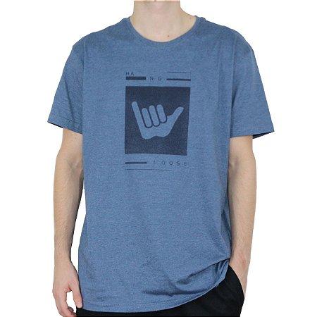 Camiseta Hang Loose Silk Logart Denim Mescla