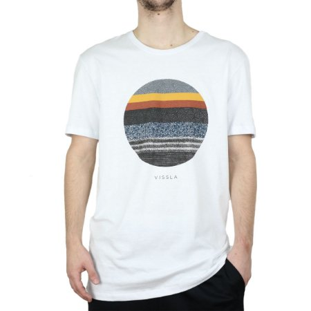 Camiseta Visla Silk Equator Branco