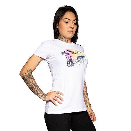 Camiseta Hurley Beachside Branco