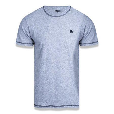 Camiseta New Era Alkaline Bright Minimal Mescla Cinza