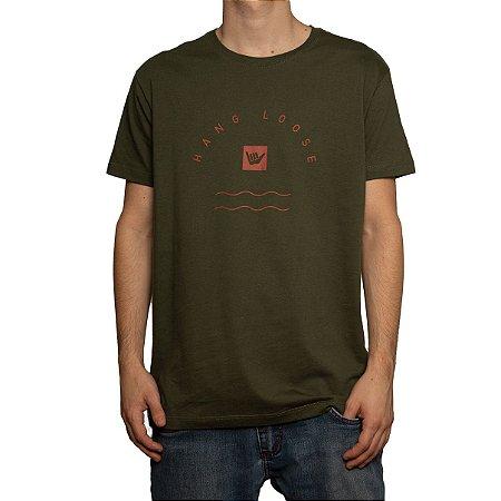 Camiseta Hang Loose Silk Verde Militar