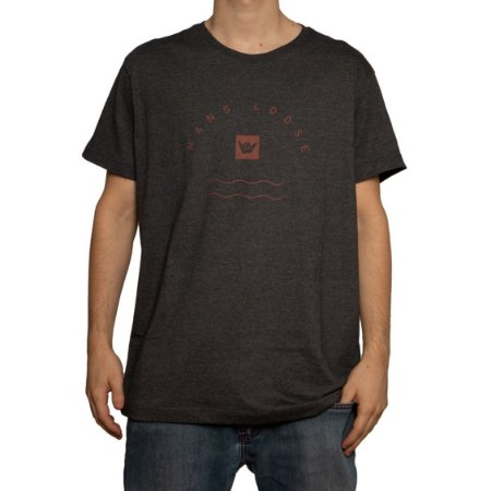 Camiseta Hang Loose Silk Preto Mescla