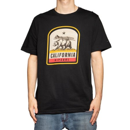Camiseta Rip Curl Da Bears Black